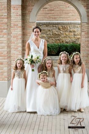 Old-St.-Pat's-Church-Bride-Flower-Girls.