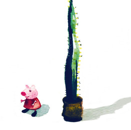 PEPPA PIG AND CACTUS
