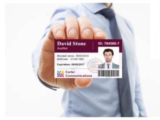 La importancia de los carnets  identificación de empleados en las empresas