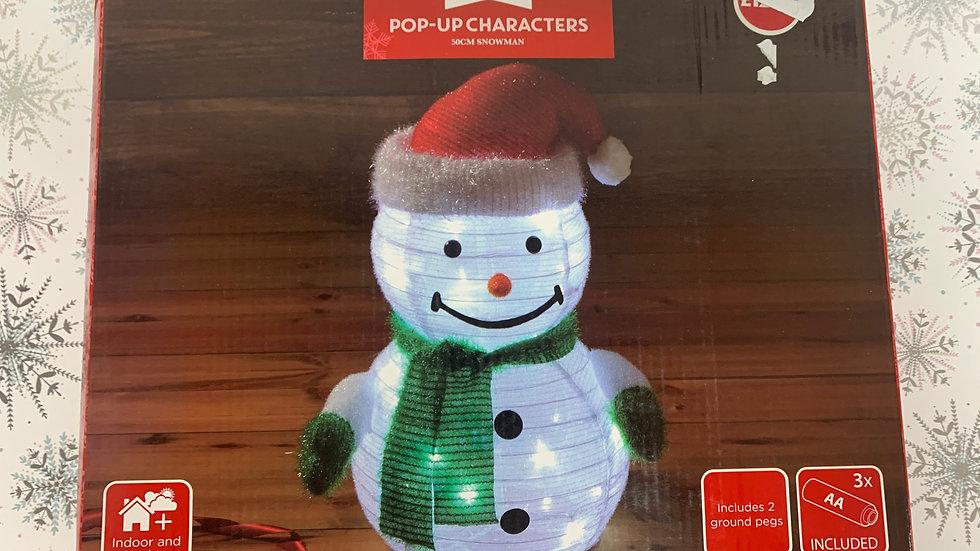 Pop-Up Snowman