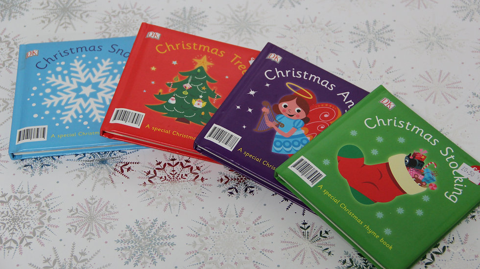 Children's Cardboard Christmas Books