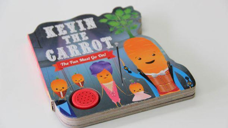 Kevin the Carrot The Fun Must Go On