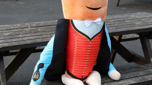 Large Plush Kevin Carrot