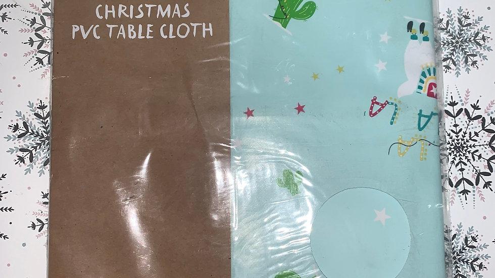 Christmas PVC Table Cloth
