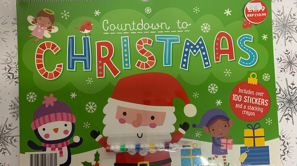 Countdown to Christmas Activity Book