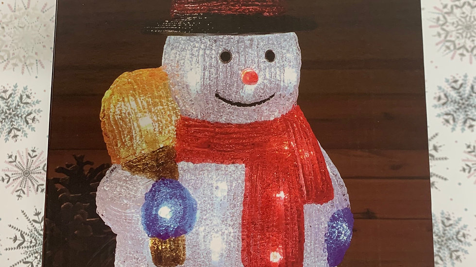 LED Light Up Snowman