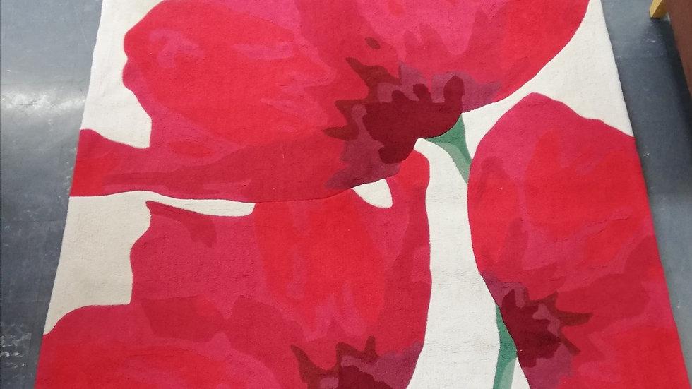 Rug - Poppies design