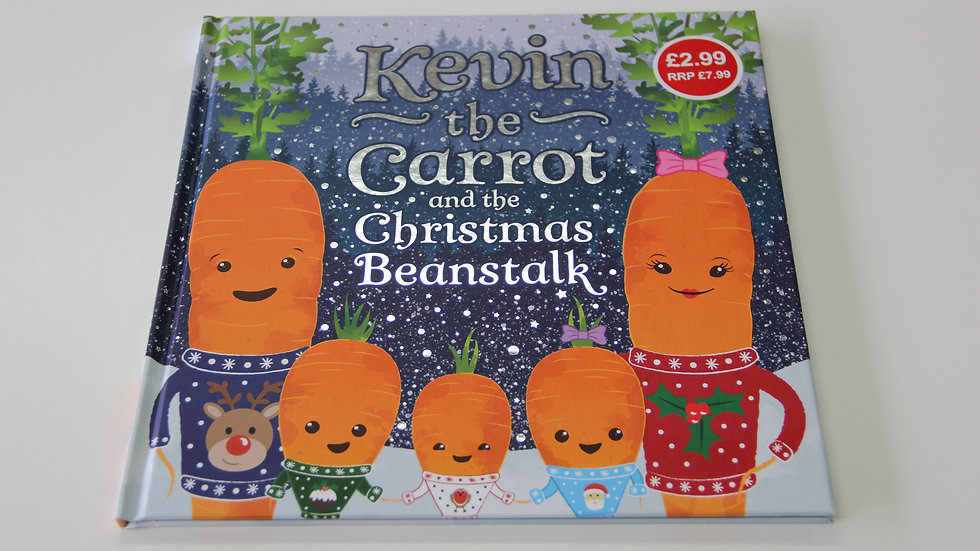Kevin Carrot and the Christmas Beanstalk