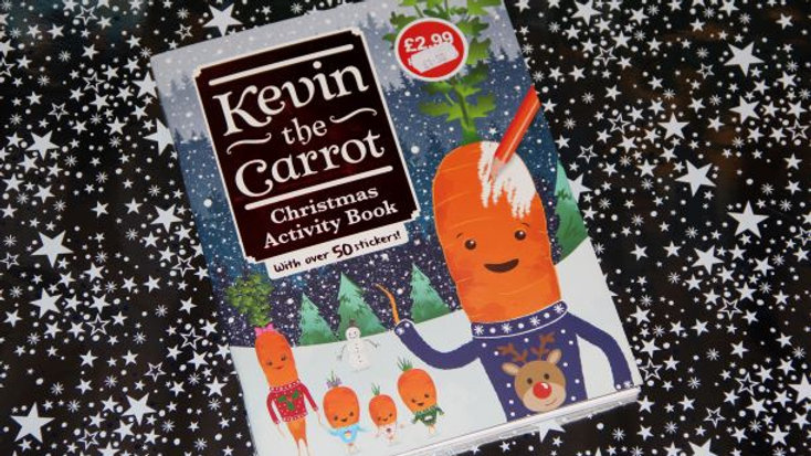 Kevin the Carrot Activity Books