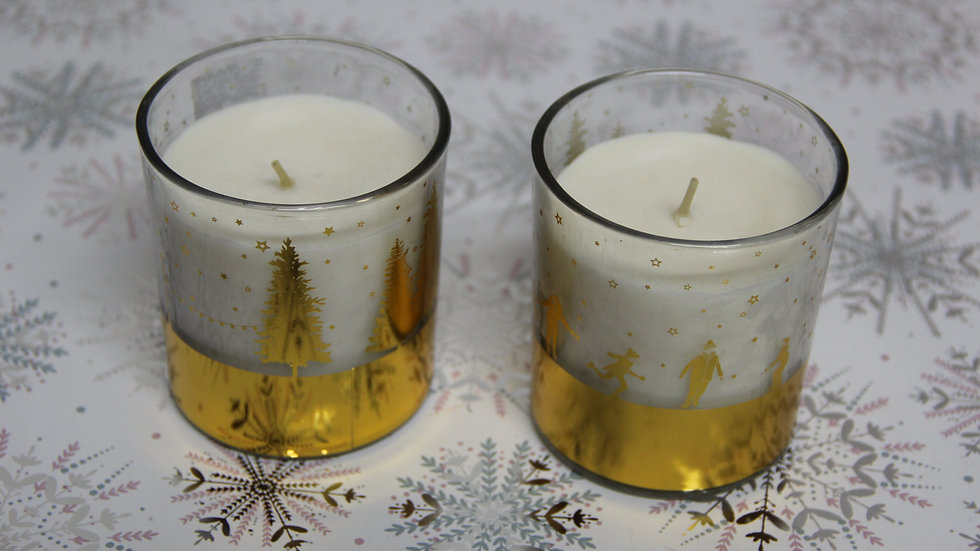 Festive Scented Candles