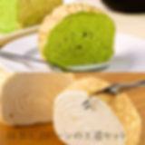 ミルクレープロール 宇治抹茶&プレーンセット