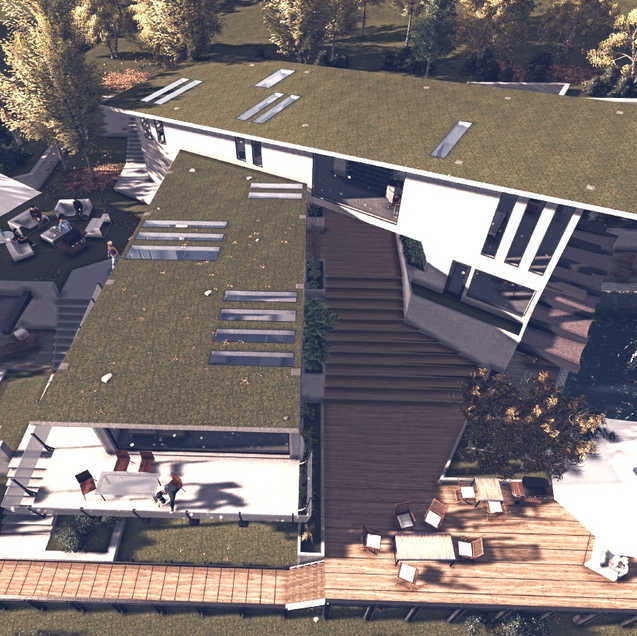 flying villa, arch210 project