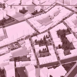 kentsel niş, competition (awarded), uşak yayalaştırılan sokaklar