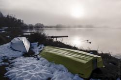 Winter at Lake Alexandrina