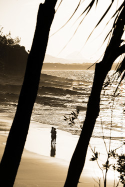 Chilling out, Noosa National Park