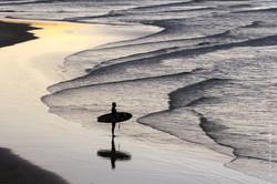 Last surf, Byron Bay