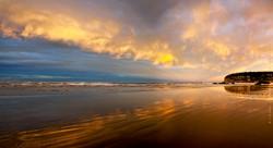 Beach twilight, Sumner, Christchurch