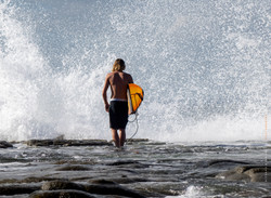 Surfer - Point Cartwright