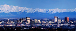 Christchurch and the Alps