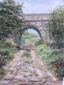 Bridge below old Comber Railway Line