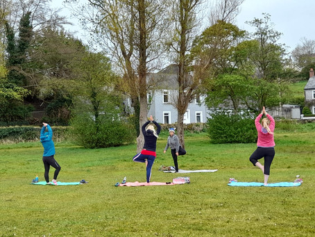 Fine Art Painting Courses and Yoga..some classes now outdoors.