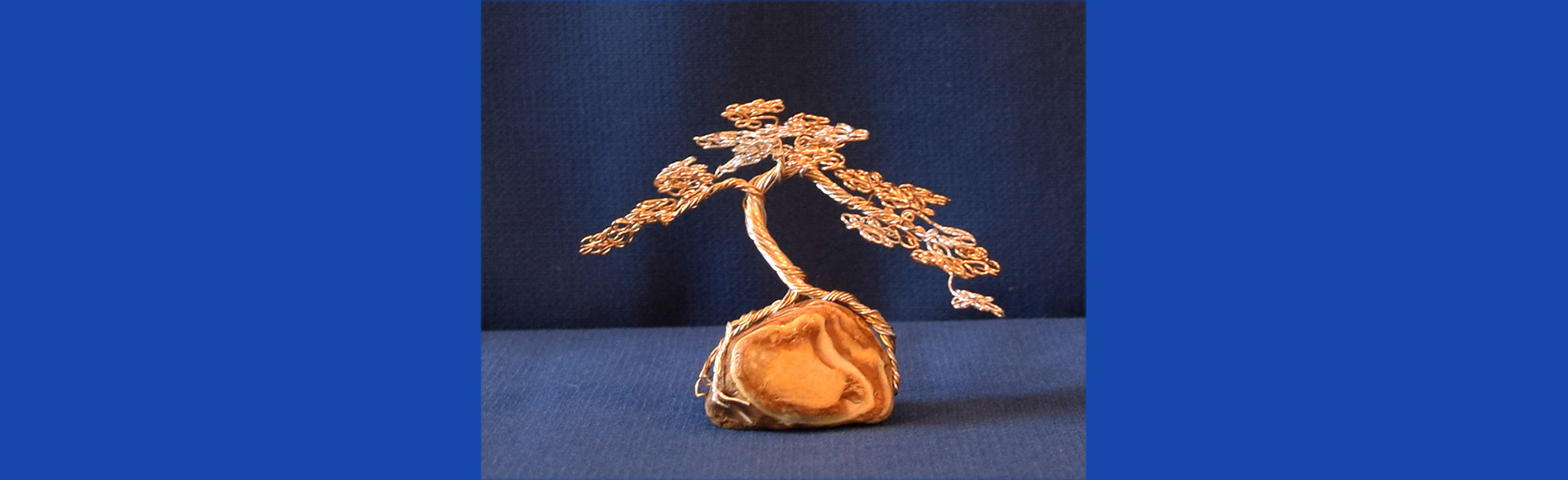 Mini Bonsai on Agate