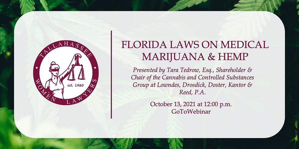 Florida Laws on Medical Marijuana and Hemp