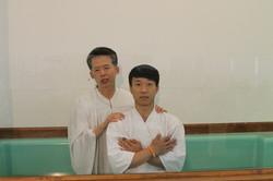 4/20일 부활절 김현호 형제님 침례식