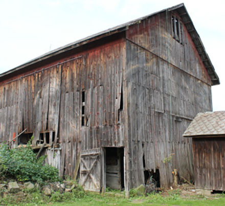 The Old Family Farm Barn.