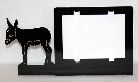 Burro or Donkey Picture Frame