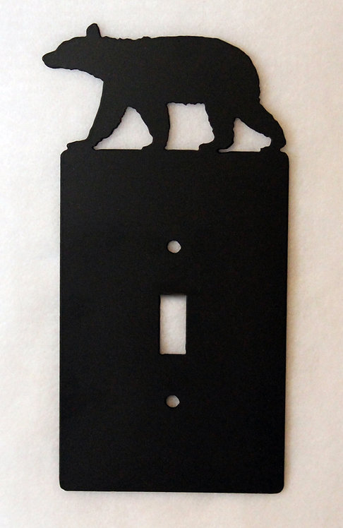 Bear Single Switch Wall Plate Cover