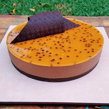 Chocolate y maracuyá