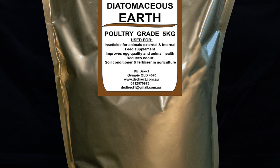 5kg Poultry Grade Diatomaceous Earth (2-4mm)