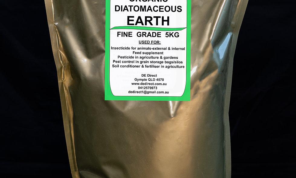 5kg Fine Diatomaceous Earth