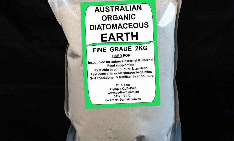 2 kg Fine Diatomaceous Earth