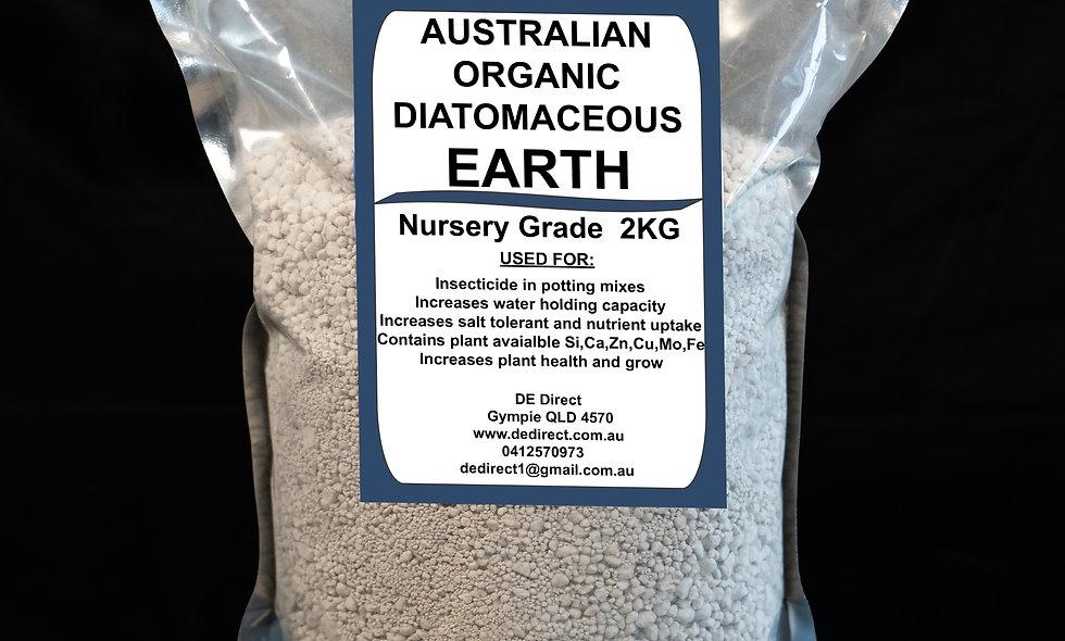 2 kg Nursery/Garden Grade Diatomaceous Earth (Fine-8mm)