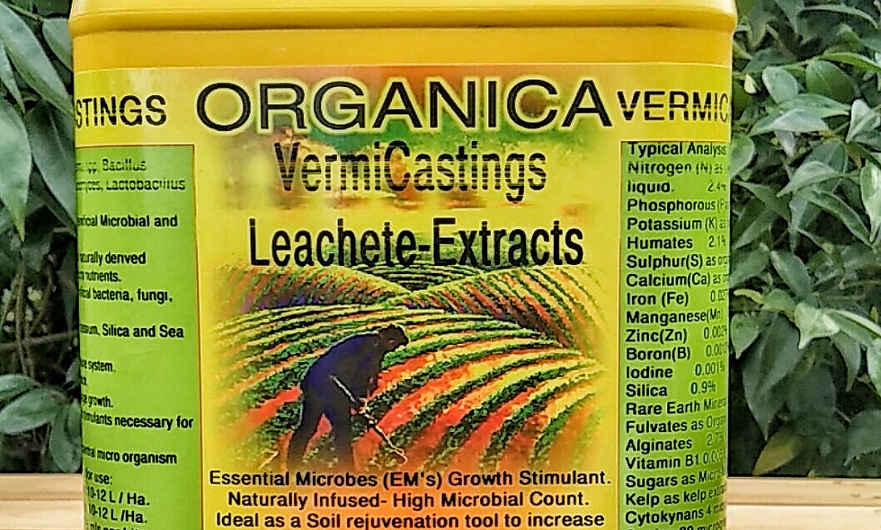 Organica Vermicast-Leachate-Extracts