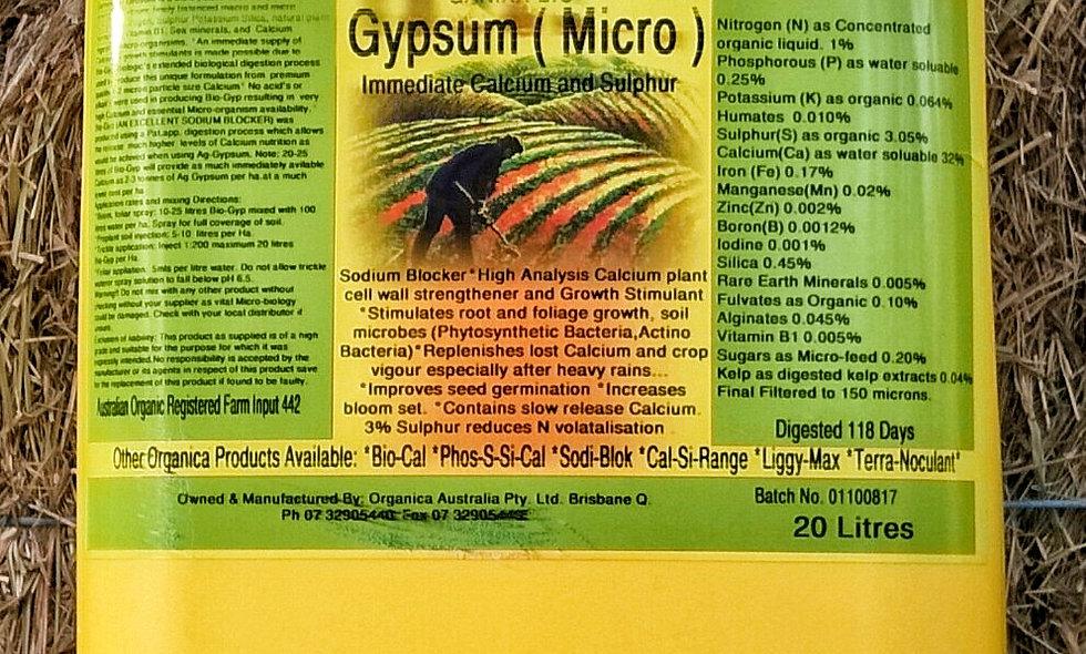 Organica Gypsum
