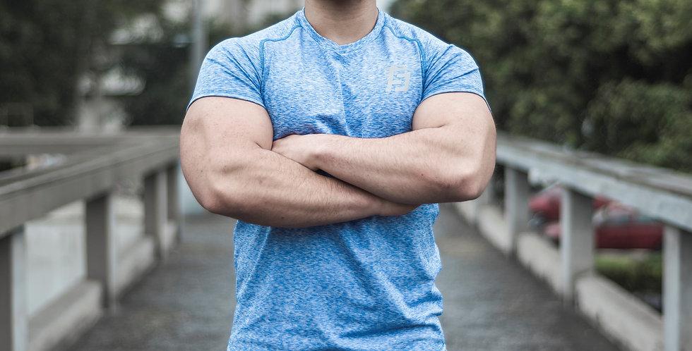 Volcano Training T-Shirt - Blue Nautico