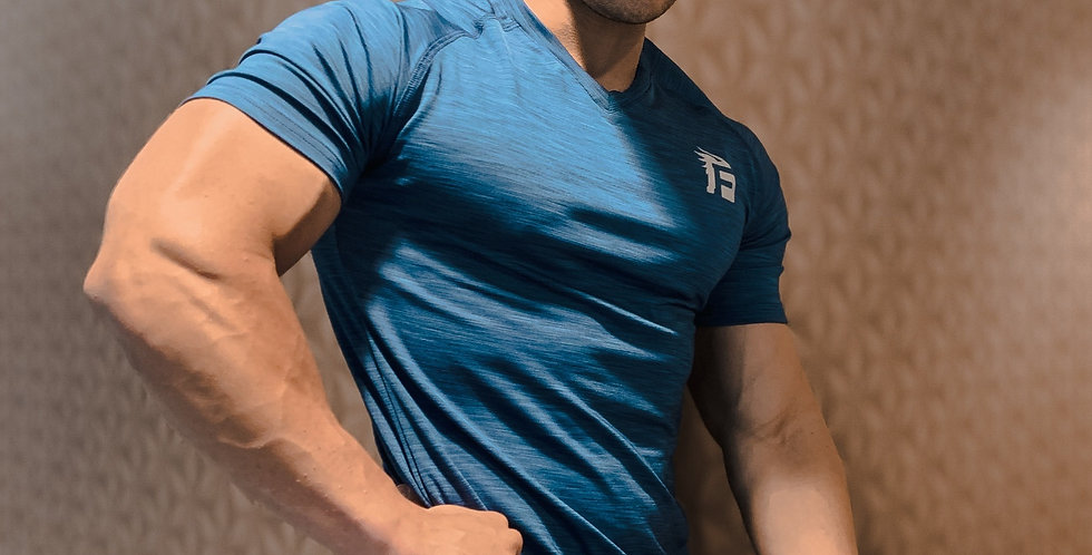 Volcano 2.0 Training T- Shirt - Royal Blue