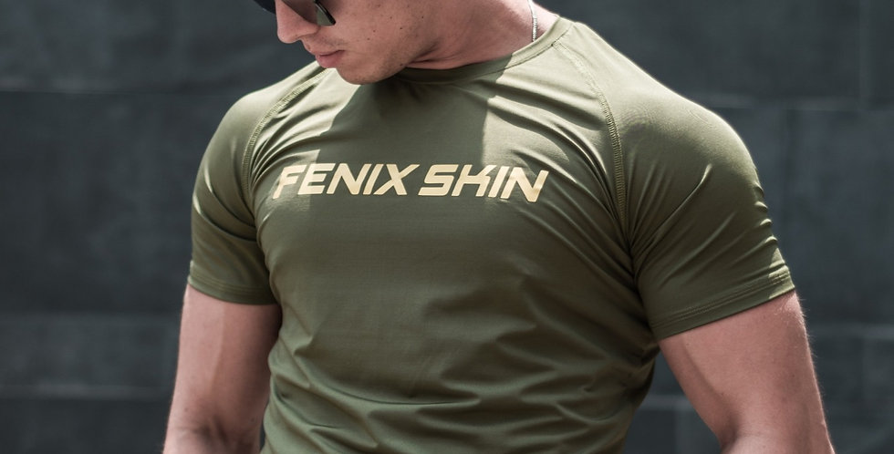 Iconic T-Shirt - Military Green