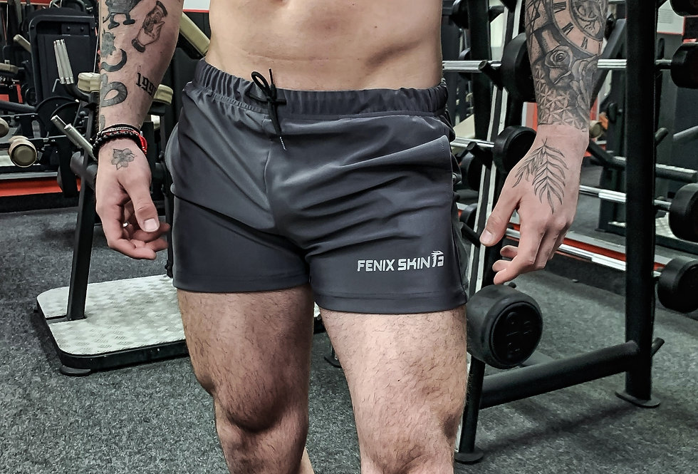 Versatility Squat Short - Iron Gray