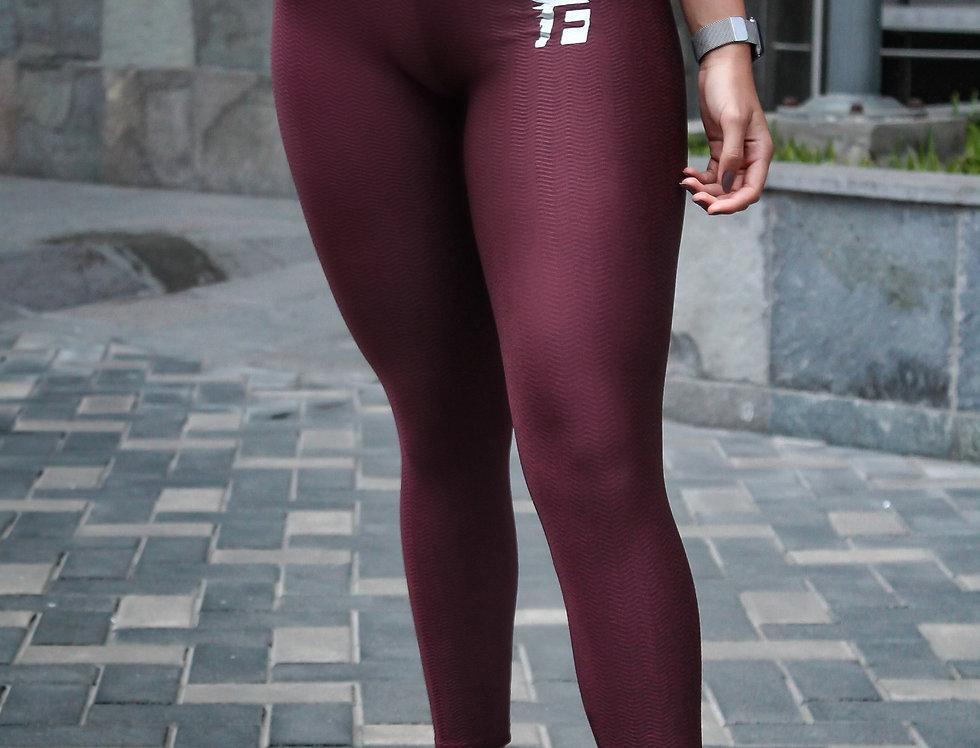 Active Legging - Wine