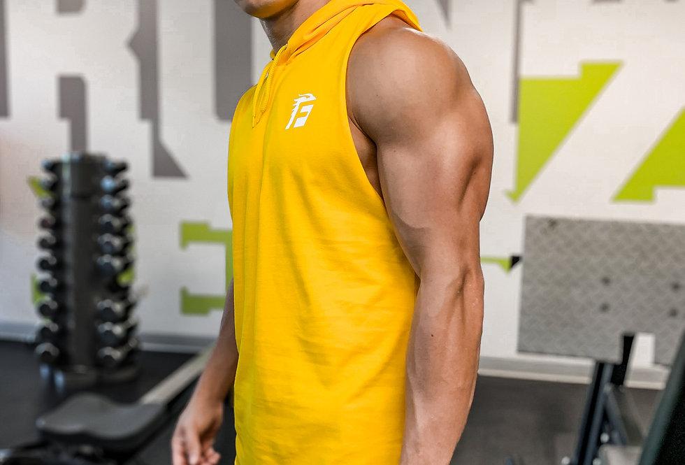 Legacy Arm Drop Hoodie - Cian Yellow
