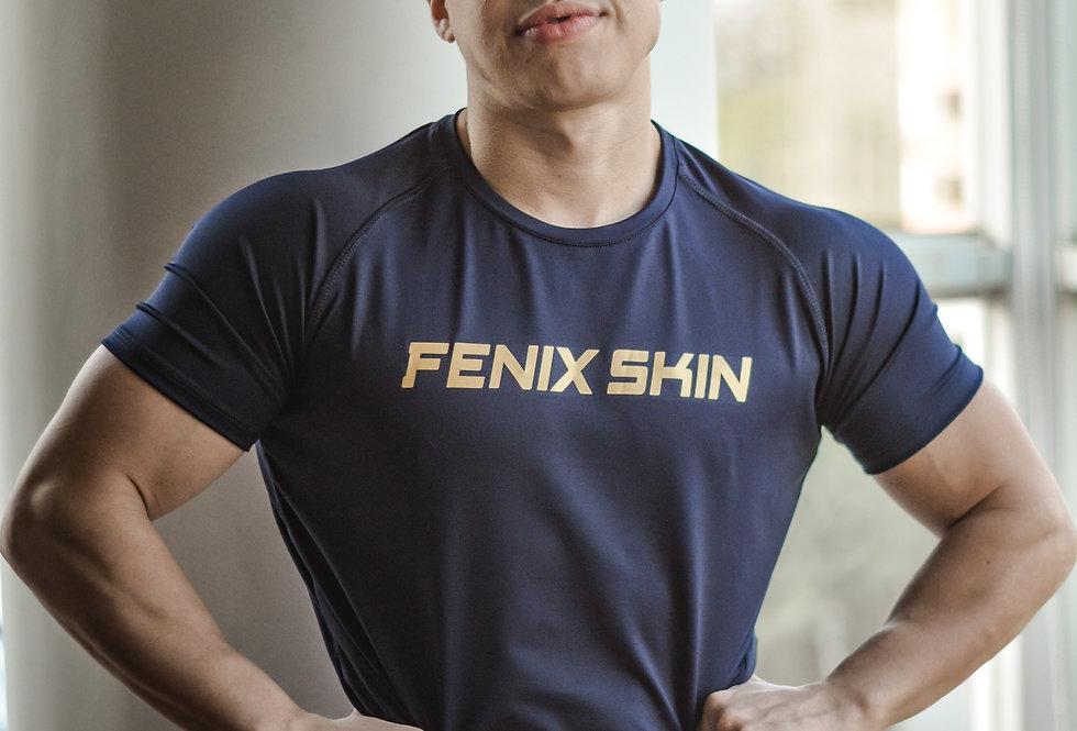 Iconic T-Shirt - Golden Blue
