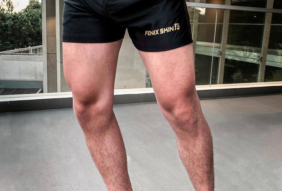 Versatility Squat Short - Golden Black