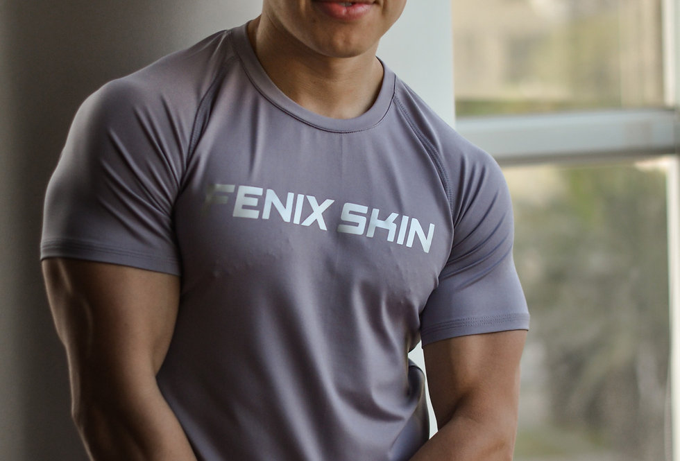 Iconic T-Shirt - Steel Gray