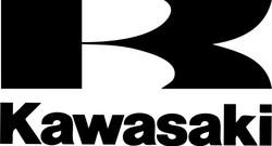 Kawasaki logo with K above