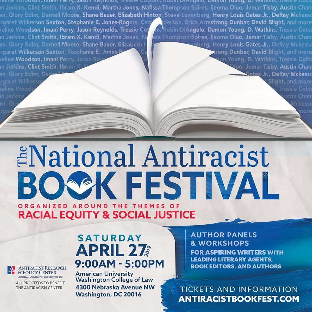 The National Antiracist Book Festival #antiracism #Antiracistbookfestival
