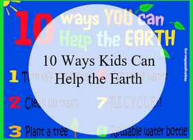 Earth Day: 10 Easy Ways Kids Can Help Save the Earth